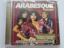 Arabesque - The Best. Legends of Disco 80 (2006) Brand New, Sealed