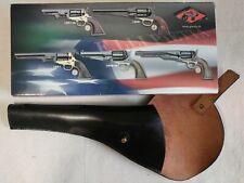 Black Left Hand CAVALRY FLAP HOLSTER 1851 1858 1860 for Pistol Revolver VINTAGE