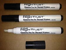6 Jumbo Cleaning Pens for Thermal Printers 6ml of Ipa Per Pen Evolis Hp Toshiba