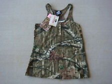 Mossy Oak Womens Camo Camouflage Tank Halter Top Shirt LARGE L