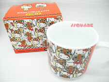 Monster Hunter Airou x Sanrio Hello Kitty 8cm x 8cm Overlap Mini Mug Cup, White
