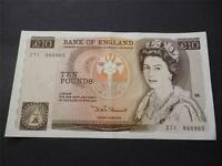1980 SOMERSET £10 NOTE IN UNCIRCULATED CONDITION, DUGGLEBY REF: B346. 1980 £10