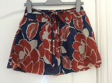 New Beautiful Hollister Soft Cotton Fully Lined Swing Mini Skirt, Size S
