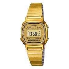 Casio Collection Gold IP Digital Mens Ladies Watch LA670WEGA-9EF RRP £48