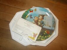 Vtg M.J. Hummel Surprise 1990 Little Companions Plate #N1440