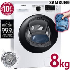 Samsung Waschmaschine Frontlader 8kg AddWash Inverter Aquastop Dampf freistehend