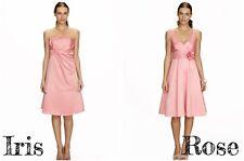 Bhs Iris, Rose Short Bridesmaid Dress Pale Pink Size10 12 14 16 18 20 22 BNWT