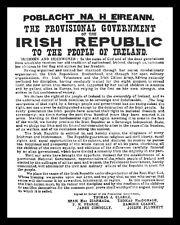 1916 PROCLAMATION EASTER RISING DUBLIN IRISH IRELAND EIRE METAL SIGN PLAQUE 999