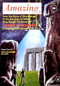 AMAZING Stories July 1962 KEITH LAUMER ROBERT F YOUNG RICHARD BANKS BEN BOVA sci