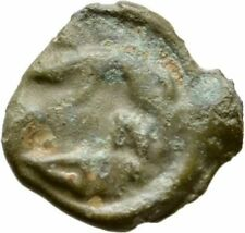 Ancient Rome 100- 50 BC CELTIC COINAGE GAUL Lingones POTIN JANUS BOAR #1