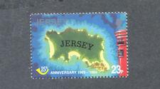 Post Box & Map Jersey 1994 mnh stamp-UPU Anniv