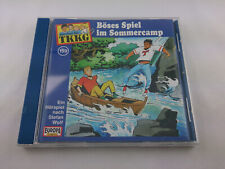 TKKG 159 Böses Spiel im Sommercamp Hörspiel CD Europa Logo