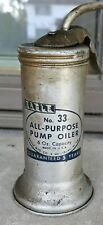 VINTAGE OIL CAN EAGLE TRIGGER PUMP OIL CAN NO 33