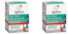 Similasan Ear Wax Removal Kit w/Bulb Syringe (Paks of 2)