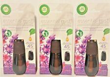3 Air Wick Essential Mist Lavender Almond Blossom Fragrance 45 Days Natural Oil