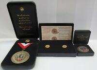 Army National Guard Deployment Medal Set, Medal, Coin, Lapel Pins