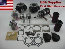 Banshee YFZ350 STD 64mm Cylinder Piston Gasket Crank Carb Air Fuel Filter kit