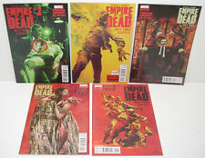 Marvel Comics EMPIRE OF THE DEAD ACT TWO 1-5 Complete SET 2014 George Romero