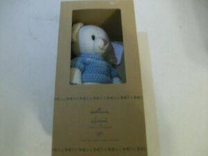 "Hallmark Knit Handmade 12"" Boy Polar Bear  in Gift Box"