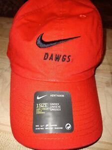 Georgia Bulldogs Nike Hat New With Tags
