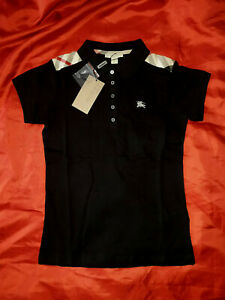 Burberry Black Women Polo Shirt