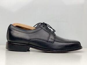Clarks Mens Black Leather Square Toe Derby Formal Shoe UK Size 8.5