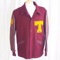 """Vintage """"Tigers"""" Letterman Jacket - 42"""