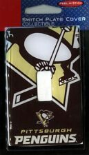 Pittsburgh Penguins NHL Single Switch Plate Cover