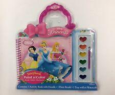 Disney Princess Storybook Paint N Color Activity Kit (New)