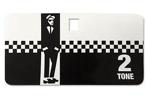 Tool Box Glove Box Sticker fits Vespa PX T5 LML Scooter - 2 Tone Ska Decal TB8