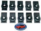 Nosr Ford Mercury Body Fender Frame Grille 14-20 Bolt U Clip Panel J Nut 10pc D