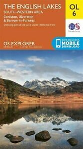 Lake District OS Explorer map OL6 The English Lakes - Sout... by Ordnance Survey
