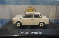 Carlo 700 1963 Little Bmw Argentina Diecast Scale 1:43 New