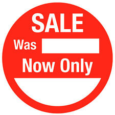 Sale Price Stickers Sticky Labels For Retailers 25mm 30mm 35mm 45mm 55mm or 63mm