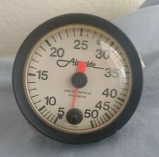 Airguide Jeweled Contralog 50 MPH Vintage Boat Gauge With Attachment
