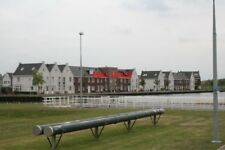 PHOTO  NETHERLANDS SPAARNDAM CANAL  HOUSES BY LOCK