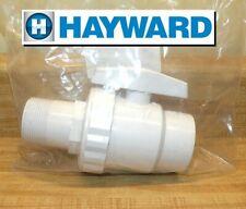 New listing Hayward Sp0723 Trimline 2-Way Ball Drain Valve 1.5-Inch Mip Ec40 Ec50 Perflex