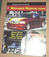 Street Scene Equipment  Dealer  Catalog USA 2002 Edition RARE