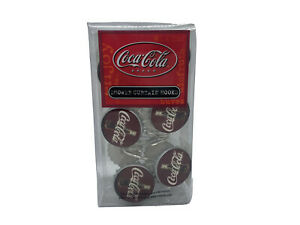 Coca-Cola Bottle Cap Shower Curtain Hooks Refreshing Coke