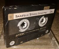 LOT OF 2 TDK MA-X90 CASSETTE TAPE TYPE IV METAL RECORDED ONCE LOOK!!!