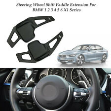 Black Steering Wheel Shift Paddle Extension DSG Trim for BMW 1 2 3 4 5 6 Series