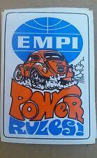 EMPI Power Rules sticker shipped