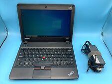 """New listing Lenovo ThinkPad X140e 11.6"""" Amd A4-5000 1.50Ghz 4Gb Ram 128Gb Ssd Windows 10 Pro"""