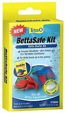 TETRA BETTA SAFE TAB 8 TABLET BETTASAFE FISH KIT AQUARIUM. TO THE USA
