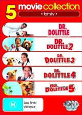 Dr Dolittle Collection (DVD, 2010, 5-Disc Set)