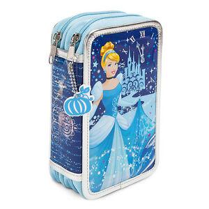 Disney Store Cinderella Zip-Up Stationery Kit