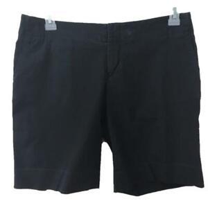 "GAP shorts size 8 black 4 pockets 10"" inseam Bermuda style"