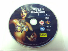 Queen Of The Damned DVD R2 PAL - Aaliyah Vincent Perez Lena Olin - DISC ONLY