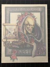 GDM GDP Grateful Dead Jerry Garcia HOUR GLASS TIME window HQ sticker OOP 1995