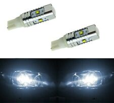 LED Light 30W 194 White 5000K Two Bulbs Front Side Marker Parking Stock Lamp T10